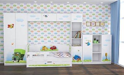 Красивая и удобная детская мебель в Екатеринбурге