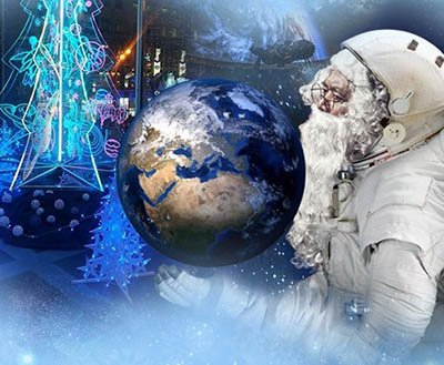 Новогоднее шоу для детей в киевском Планетарии
