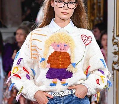 Модные женские изделия из трикотажа 2019