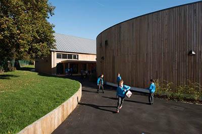 Школа Enterprise от компании Architype в Уэльсе – пример экономии и экологичности